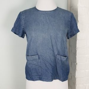 Club Monaco chambray top